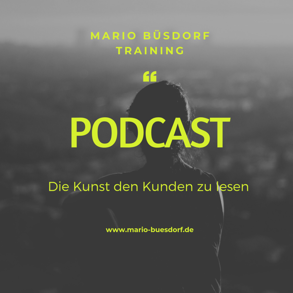 Mario Büsdorf Training - Podcast Coverbild