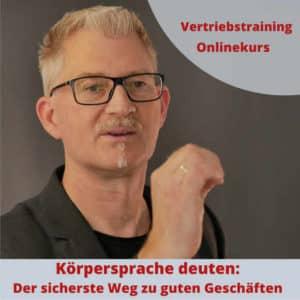 Onlinekurs Körpersprache deuten