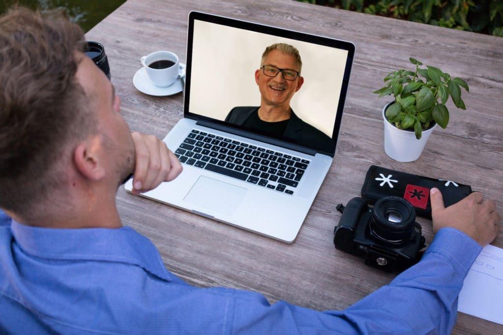 Mario Büsdorf Podcast Richtig wirken in der Videokonferenz