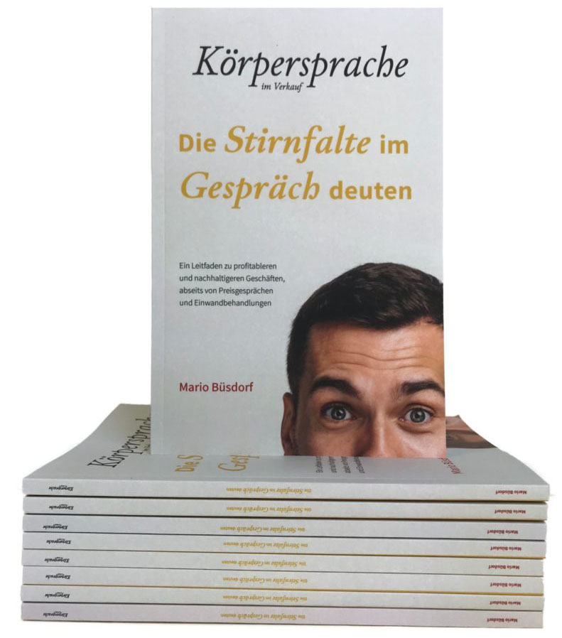 Buch Körpersprache im Verkauf Mario Büsdorf
